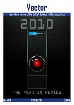 Cover of Vector 266, with HAL 2000