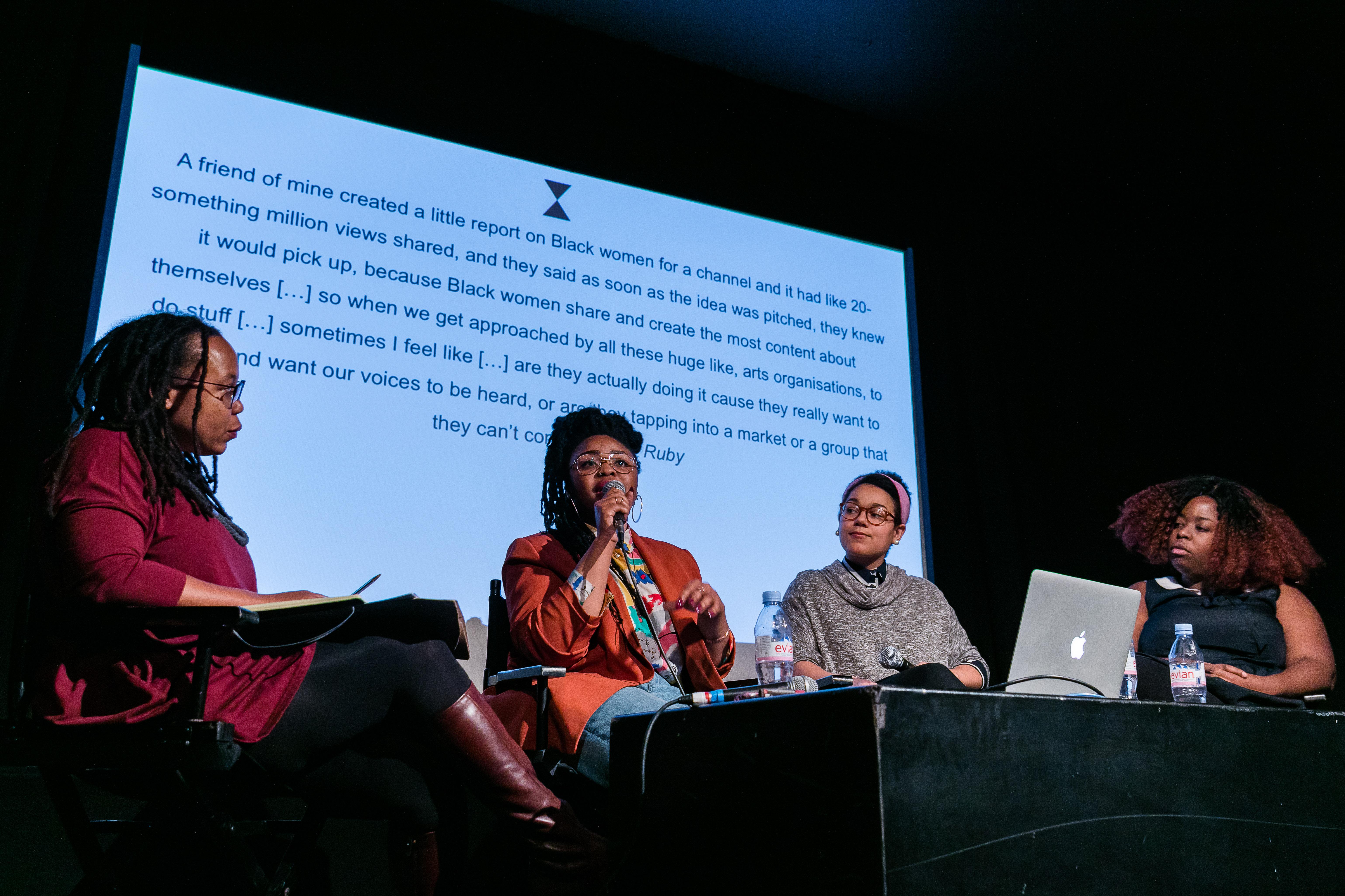 Black Feminism and Post-Cyber Feminism, photoMark-Blower, no27