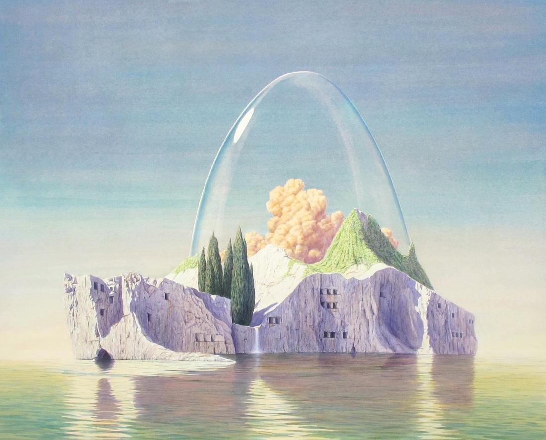 Hermetic Island 2010 34x43''